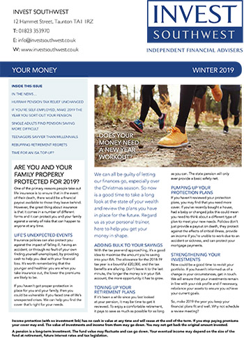 Invest Southwest Winter 2019 Your Money